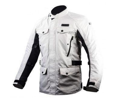 chaqueta ls2 metropolis gris